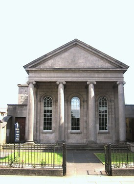 Portico Front of Country Museum, The Mall East, Armagh