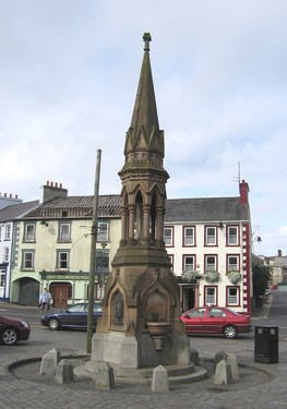 O'Connor Memorial, The Diamond, Ballycastle