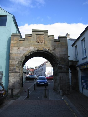 Carrickfergus Town Walls and North Gate