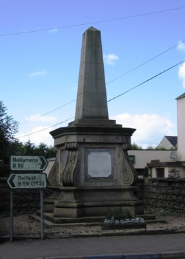 Rowan Memorial, Doagh