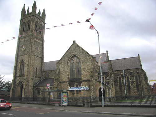 St. Patrick's Church of Ireland, Newtownards Road, Belfast
