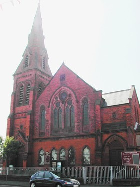 Megain Memorial Church, Newtownards Road, Belfast
