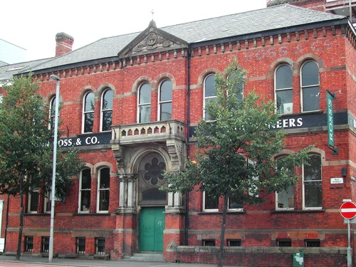 Ross's Auction Rooms, 22 May Street/37-39 Montgomery Street, Belfast