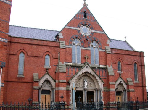 St. Paul's RC Church, 125 Falls Road, Belfast