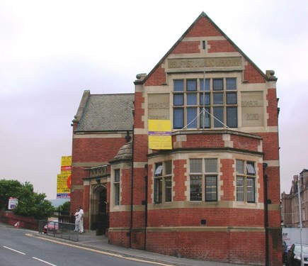 Carnegie Library, 121 Donegall Road, Belfast