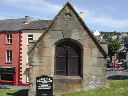 Wallace Tomb, St. Margaret's Graveyard, Church Street, Downpatrick