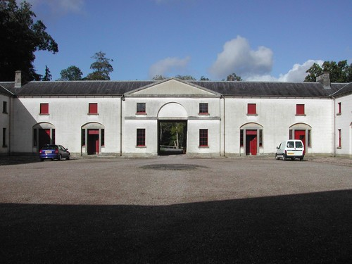 Grand Yard/Stableyard, Castle Coole, Enniskillen