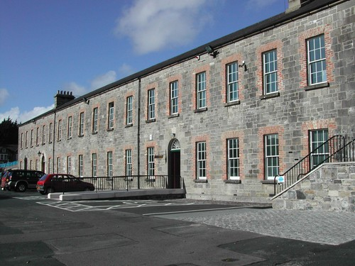 Barracks (Block B), Old Castle Barracks, Wellington Place, Enniskillen