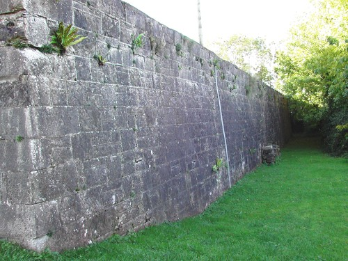 Castle Redoubt, Fortifications at Connacht House, Off Henry Street, Enniskillen