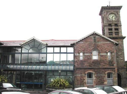 Tower and Adjoining Gable, Waterside Railway Terminus, Bond's Hill, Londonderry